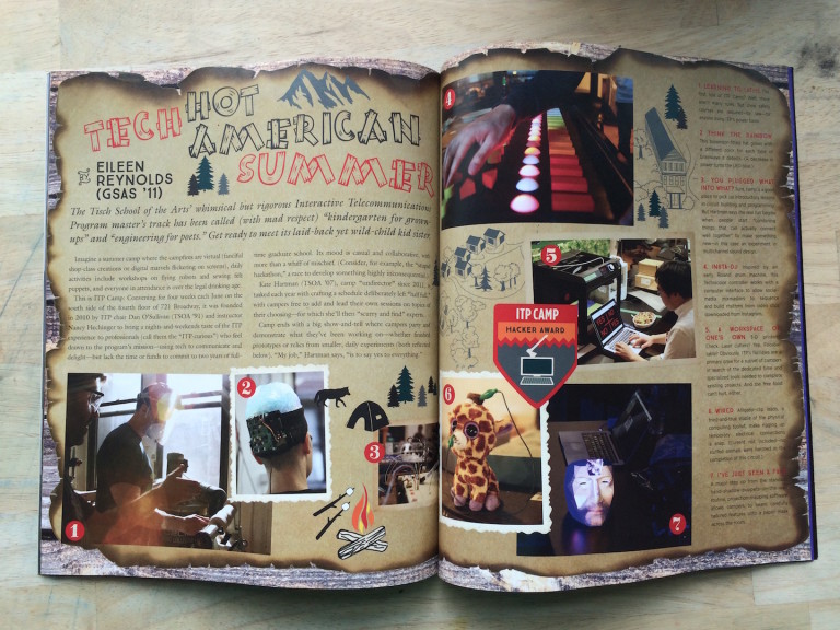 ITP Camp in NYU Alumni Magazine